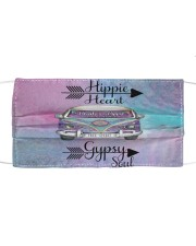 HIPPIE HEART Cloth face mask front