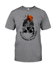 HELLO DARKNESS - MY OLD FRIEND Classic T-Shirt front