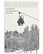 RED LODGE MOUNTAIN POSTER 16x24 Poster front