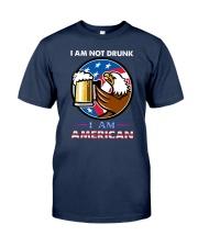 NOT DRUNK Classic T-Shirt front