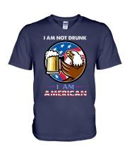 NOT DRUNK V-Neck T-Shirt thumbnail
