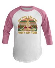 EFF YOU 2 T-SHIRT Baseball Tee thumbnail