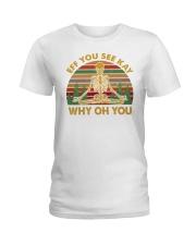 EFF YOU 2 T-SHIRT Ladies T-Shirt thumbnail