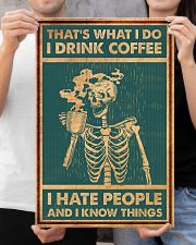 DRINK COFFEE AND HATE PEOPLE 16x24 Poster poster-portrait-16x24-lifestyle-19