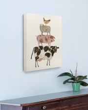 Chicken sheep 16x20 Gallery Wrapped Canvas Prints aos-canvas-pgw-16x20-lifestyle-front-01