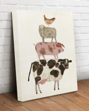 Chicken sheep 16x20 Gallery Wrapped Canvas Prints aos-canvas-pgw-16x20-lifestyle-front-14