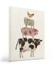 Chicken sheep 16x20 Gallery Wrapped Canvas Prints front