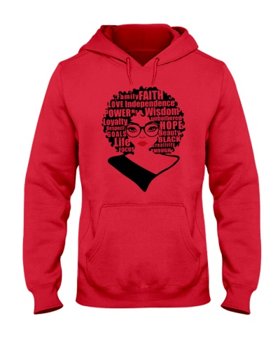 AFRO BLACK WOMAN T-SHIRT