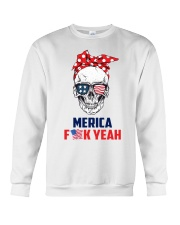 MERICA SKULL Crewneck Sweatshirt thumbnail