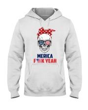 MERICA SKULL Hooded Sweatshirt thumbnail