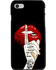 FRAGILE LIKE A BOMB T-SHIRT Phone Case thumbnail