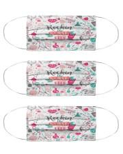 ROCKIN' NURSE LIFE Cloth Face Mask - 3 Pack front