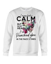 CALM T-SHIRT Crewneck Sweatshirt thumbnail