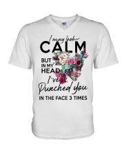 CALM T-SHIRT V-Neck T-Shirt thumbnail