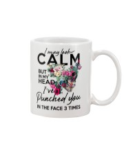 CALM T-SHIRT Mug thumbnail
