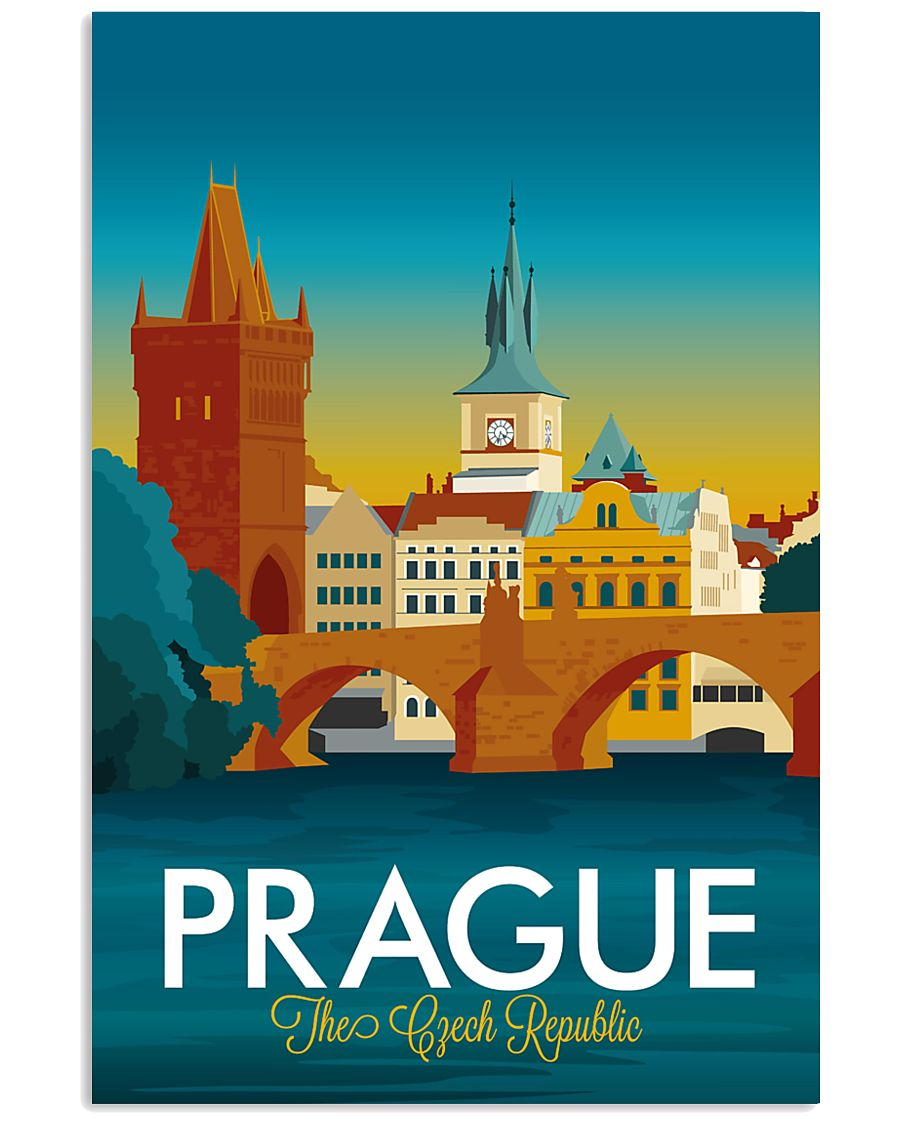 PRAGUE 16x24 Poster