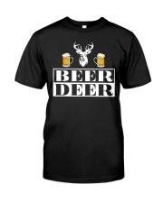 BEER DEER Classic T-Shirt front