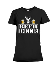 BEER DEER Premium Fit Ladies Tee thumbnail