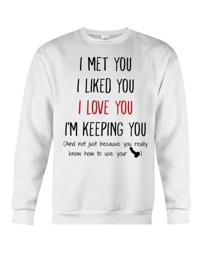 MEET YOU TO LOVE YOU MUG