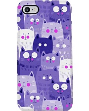 PURPLE CAT - DRESS 3D Phone Case thumbnail
