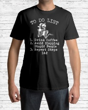 TO DO LIST SKULL T-SHIRT Classic T-Shirt lifestyle-mens-crewneck-front-1