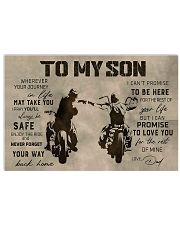 TO MY SON 24x16 Poster front