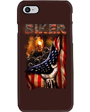 BIKER FLAG T-SHIRT Phone Case thumbnail