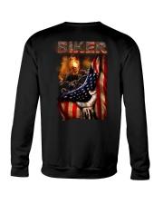 BIKER FLAG T-SHIRT Crewneck Sweatshirt thumbnail