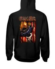 BIKER FLAG T-SHIRT Hooded Sweatshirt thumbnail