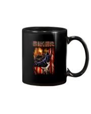 BIKER FLAG T-SHIRT Mug thumbnail