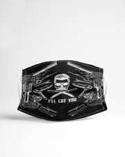 BARBER SKULL Cloth face mask aos-face-mask-lifestyle-22