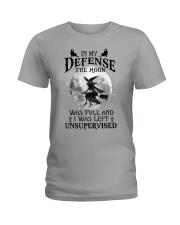 In my defense Ladies T-Shirt thumbnail