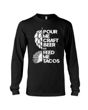 Pour me craft beer Long Sleeve Tee thumbnail