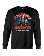 FIREWORKS DIRECTOR Crewneck Sweatshirt thumbnail