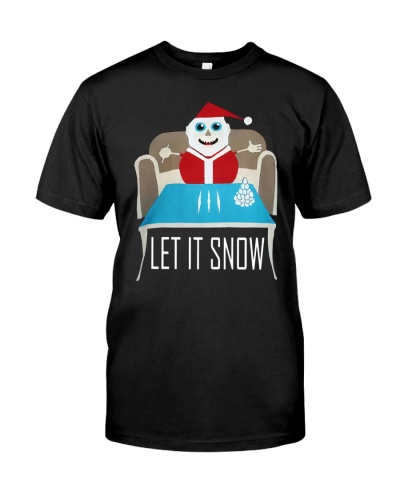 RED LET IT SNOW SWEATER