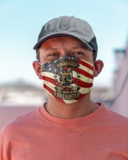 Firefighter life 4 Cloth face mask aos-face-mask-lifestyle-06