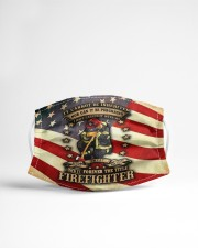 Firefighter life 4 Cloth face mask aos-face-mask-lifestyle-22