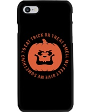 TRICK OR TREAT GIVE ME SOMETHING TO EAT Phone Case thumbnail