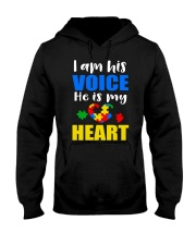 His voice Hooded Sweatshirt thumbnail