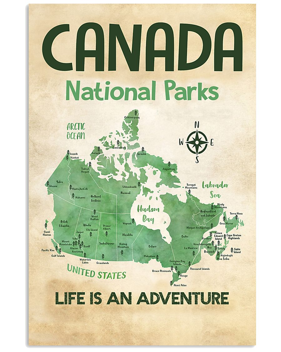 CANADA NATIONAL PARKS  16x24 Poster