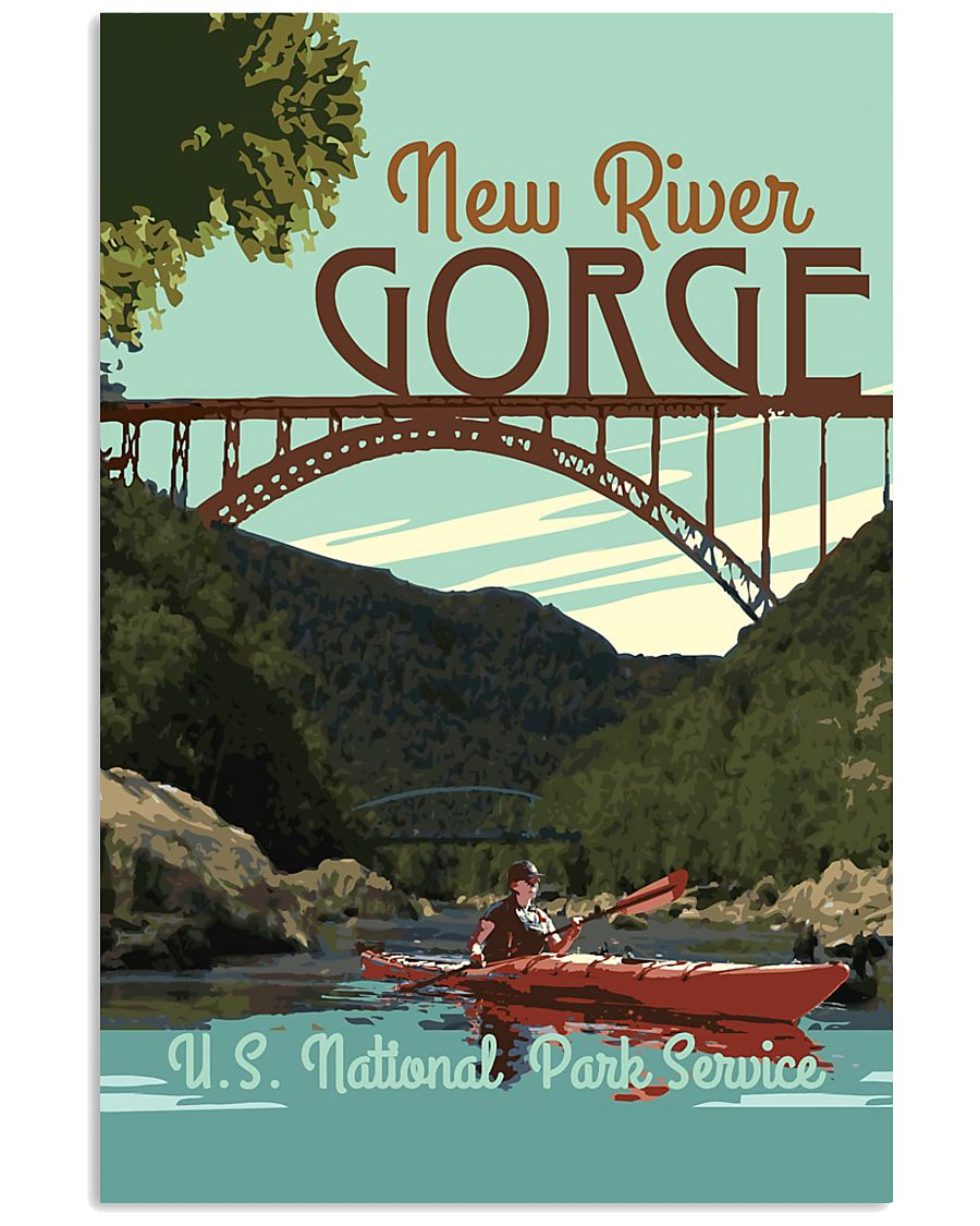 NEW RIVER GORGE 11x17 Poster