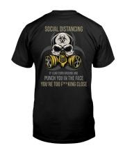 TOO CLOSE Classic T-Shirt back