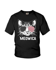 MEOWICA - INDEPENDENCE DAY Youth T-Shirt thumbnail
