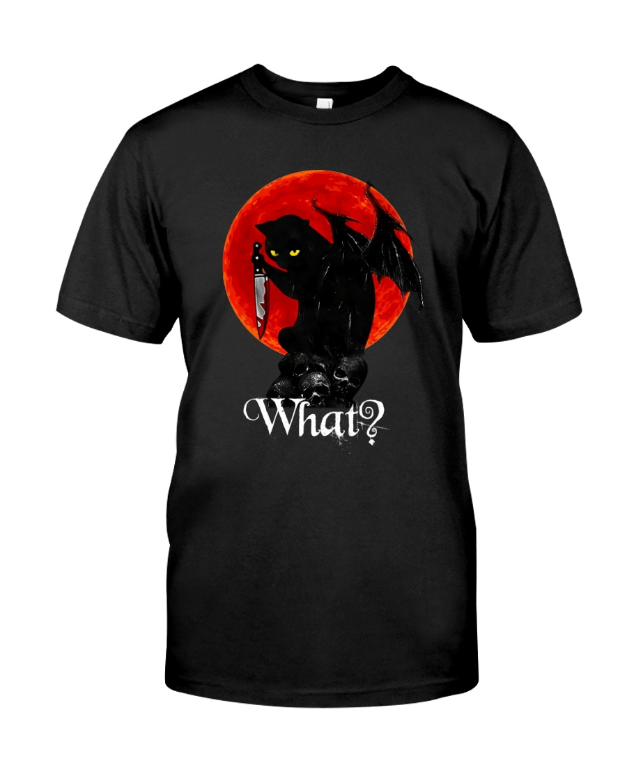 WHAT CAT T-SHIRT  Classic T-Shirt