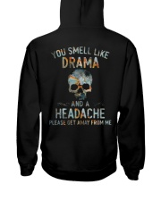 Smell Like Headache Hooded Sweatshirt back