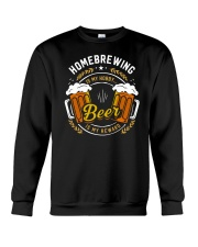 HOMEBREWING IS MY HOBBY Crewneck Sweatshirt thumbnail