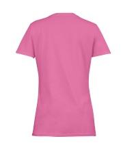 SHE WEARS HER SCARS LIKE A WARRIOR Ladies T-Shirt women-premium-crewneck-shirt-back