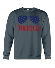 Perfect idea for Independence Day Crewneck Sweatshirt thumbnail