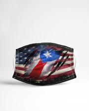 AMERICA PUERTO RICO FLAG Cloth face mask aos-face-mask-lifestyle-22