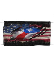 AMERICA PUERTO RICO FLAG Cloth face mask front